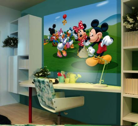 Mickey Mouse mural wallpapers 160x110cm